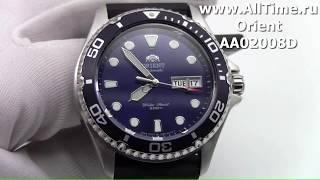 Обзор. Мужские механические наручные часы Orient AA02008D