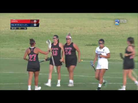 2018 Tampa Women's Lacrosse vs. Palm Beach Atlantic