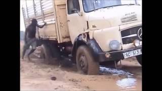 Door de modder naar Nairobi