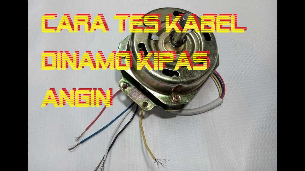 Cara Menentukan Kabel Speed Kipas Angin Youtube