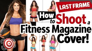 How to shoot a fitness magazine cover shot.  Prep, poses & lighting for fitness photography