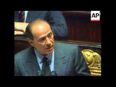 Italy - Berlusconi Fires Accusations At Borrelli