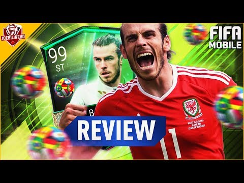 FIFA MOBILE 99 BALE REVIEW #FIFAMOBILE WORLD QUALIFIER MASTER BALE PLAYER REVIW STATS GAMEPLAY VSA