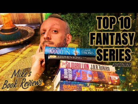 My Top 10 Fantasy Series (As Of 2020)