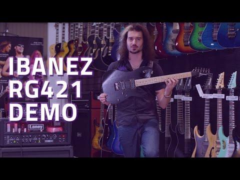 Ibanez RG421 Electric Guitar Demo