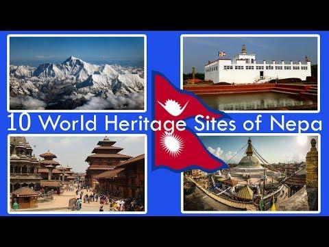 10 World Heritage Sites of Nepal HD