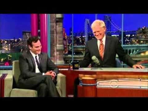 Joaquìn Phoenix - David Letterman 22/09/2010  (ITALIANO)