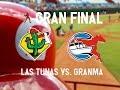 1er  Juego Las Tunas vs Granma  Finales  En el Julio Antonio Mella