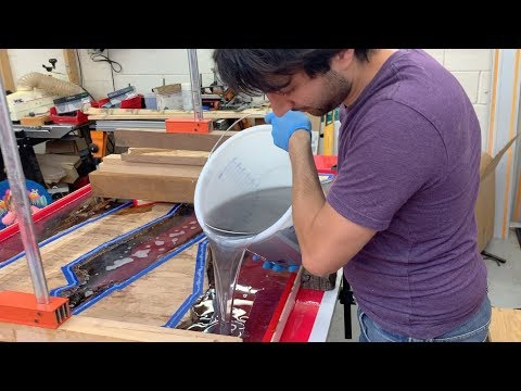 Epoxy Pour, Track Saw Holster, and Spice Box