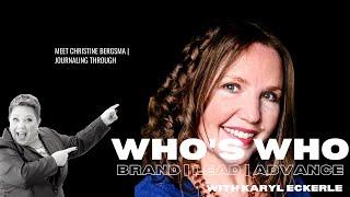 Who's Who w/Christine Bergsma