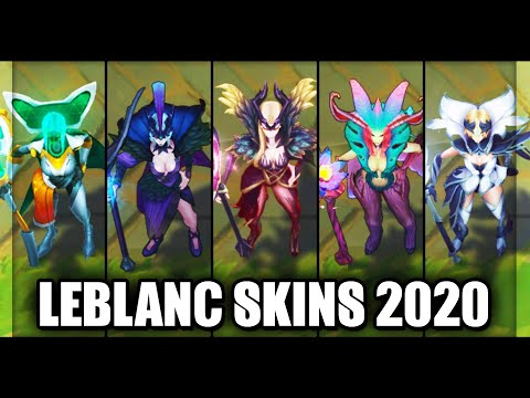 All LeBlanc Skins Spotlight 2020 (League of Legends)