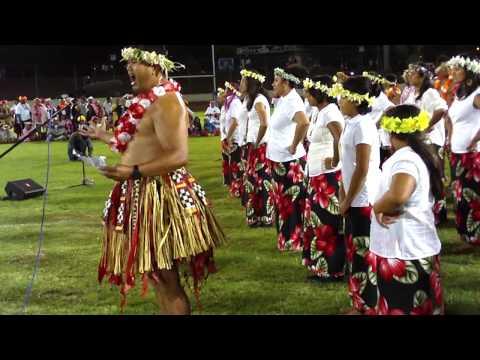 Pasefika Opening 09, ta'alolo, Tokelau opening address