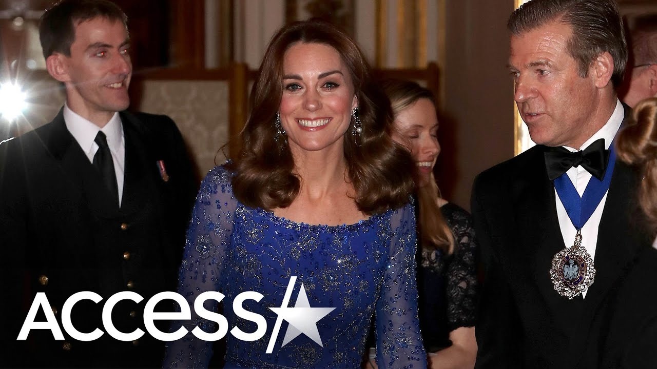 Kate Middleton Recycles Gown And Shines At Buckingham Palace Gala Dinner