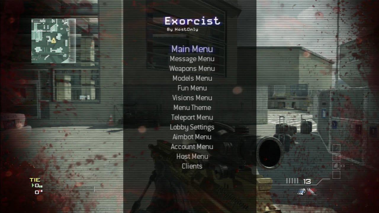 [Mw3/1 24] Exorcist SPRX (CEX/DEX) Mod Menu Released!!!