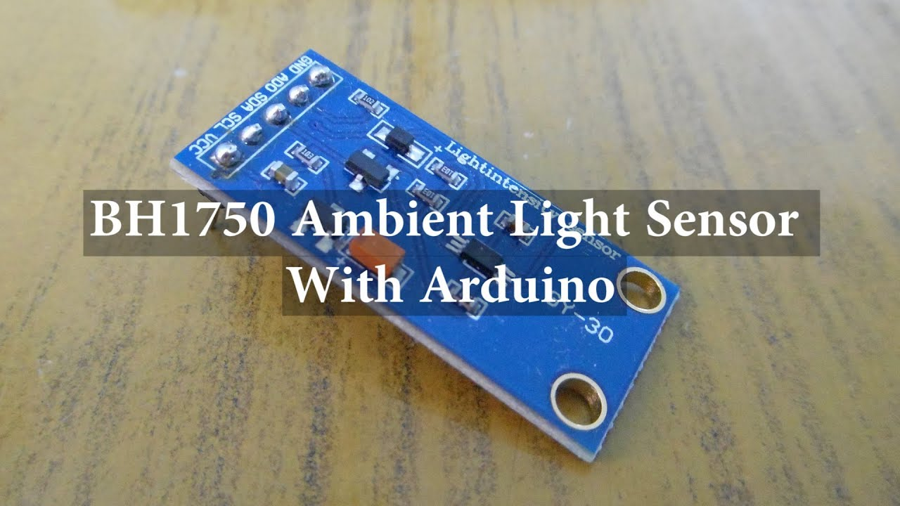 BH1750 Ambient Light Sensor with Arduino