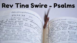 "11 July Rev Tina Swire ""Psalms"""