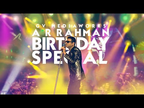 A Tribute to A R Rahman | Birthday special | The One and Only | GV Mediaworks