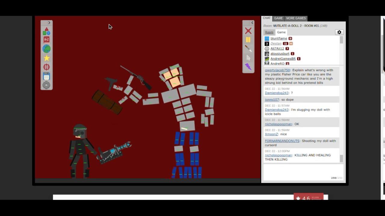 Mutilate A Doll 2: TITAN VS. ARMORED RAGDOLL - YouTube