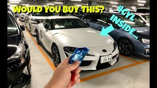 The 4 CYLINDER Supra of Japan | JDM Auction Hunting