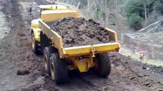 Volvo A25D dump truck
