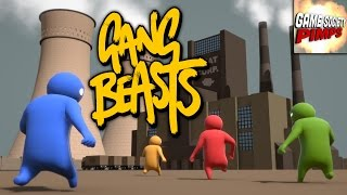 Gang Beasts - 4 Player Mayhem (Featuring ALL the GameSocietyPimps)