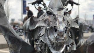 Открытие Мотосезона 2018 / Байкеры Ночные Волки / Крокус Экспо