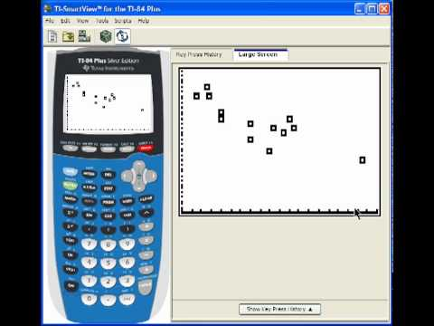 how to make a scatter plot ti nspire