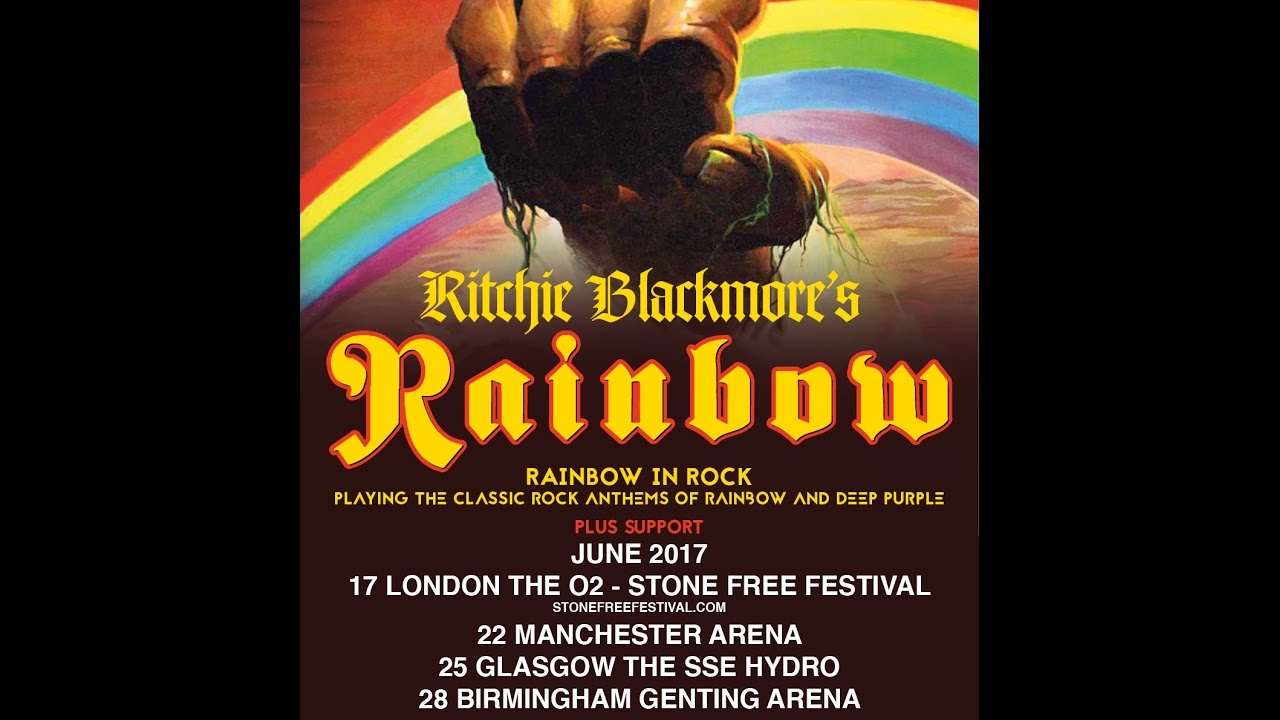 Ritchie Blackmore's Rainbow Touring in 2017