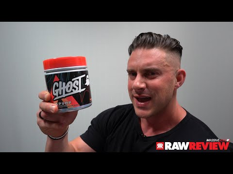 Ghost Lifestyle Pump V2 Supplement | MassiveJoes Raw Review
