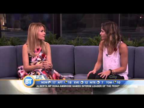 Jill Hennessy talks about career success, family