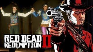 """Мэддисон играет в Red Dead Redemption - """"ОН НЕ МОГ ПОЙМАТЬ ПУЛЮ РТОМ"""""""