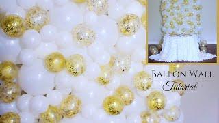 Balloon backdrop Tutorial | DIY Wedding Decoration Ideas