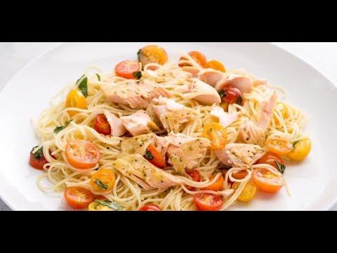 Рыба с макаронами: рецепт от Алейки