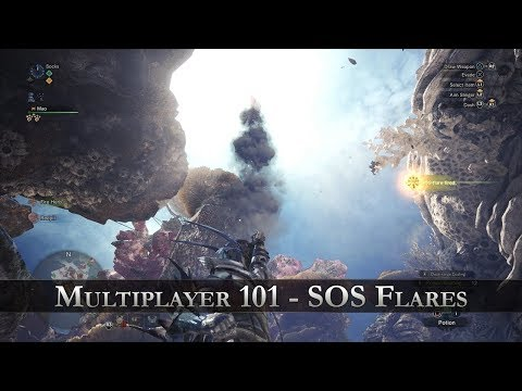 Monster Hunter: World - Multiplayer 101 - SOS Flare thumbnail
