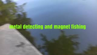 Magnet fishing and metal detecting found possible murder weapon