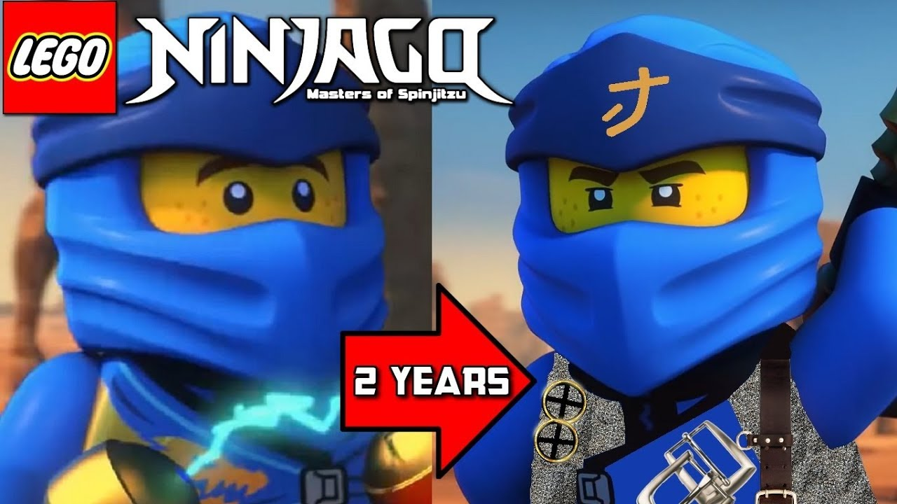 Ninjago Season 11 Huge Timeskip Youtube