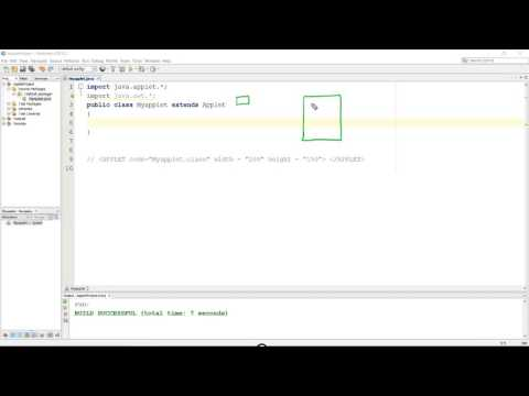 Container and Component in Java Applet (Hindi)