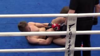 MMA-M-70,3 kg Roope Jokinen FFG  vs. Joonas Tapio, MMA Kemi