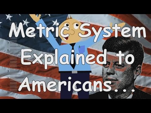 Metric System Explained to Americans (with Normadic Fanatic cameo)
