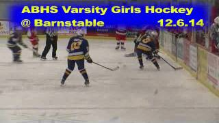 Acton Boxborough Varsity Girls Hockey @ Barnstable 12/6/14