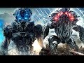 Alien vs Alien Fight Scene HD - Beyond Skyline RoBoT