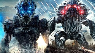 Alien vs Alien Fight Scene HD - Beyond Skyline RoBoT