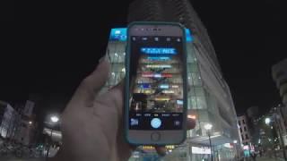 Night town walking video( GoproHERO6 にて撮影 夜間撮影の参考に