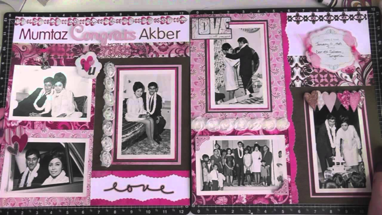 How to scrapbook 8x8 layouts - How To Scrapbook 8x8 Layouts 34