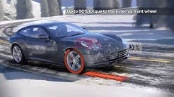 Ferrari's new GTC4 Lusso with all-wheel drive and rear-wheel steering