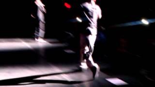 Ludacris performing