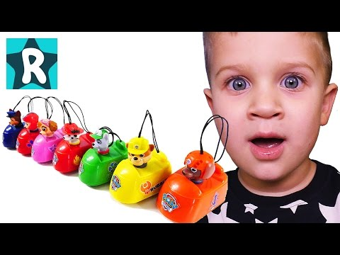Щенячий Патруль Бешеные МАШИНКИ - Сюрпризы для детей Paw Patrol Mad Cars Surprises