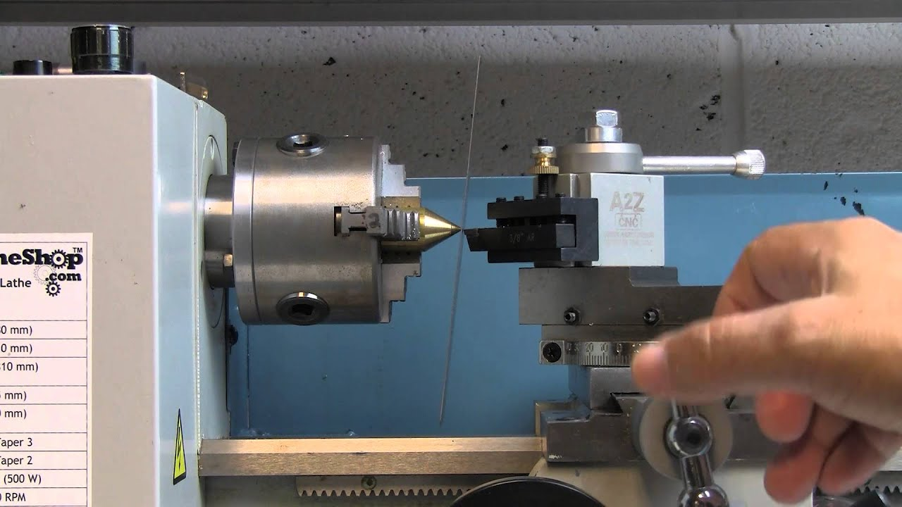 How To Perfectly Center Your Lathe Tool