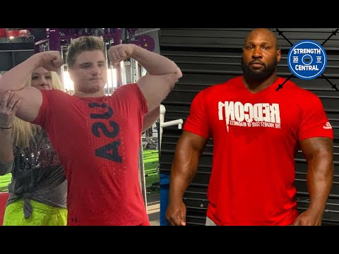 LOTW (July 2020) 13 y/o Benches 365 lbs, Johnnie Harris Pause Benches 650 lbs For Reps