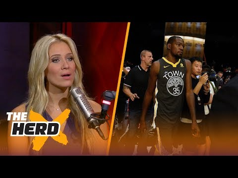 Kevin Durant throws shade on old teammates and coaches - Kristine and Colin react | THE HERD
